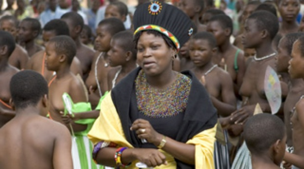 Queen of the Tembe people of Maputaland