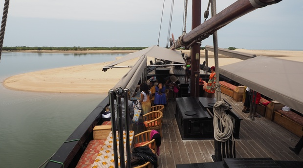 Dhow trip in Maputo bay